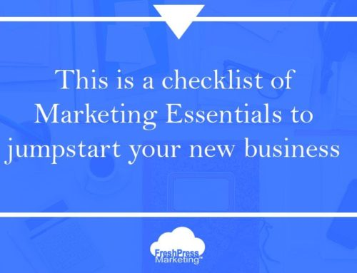 Essential Marketing Checklist for your New Business