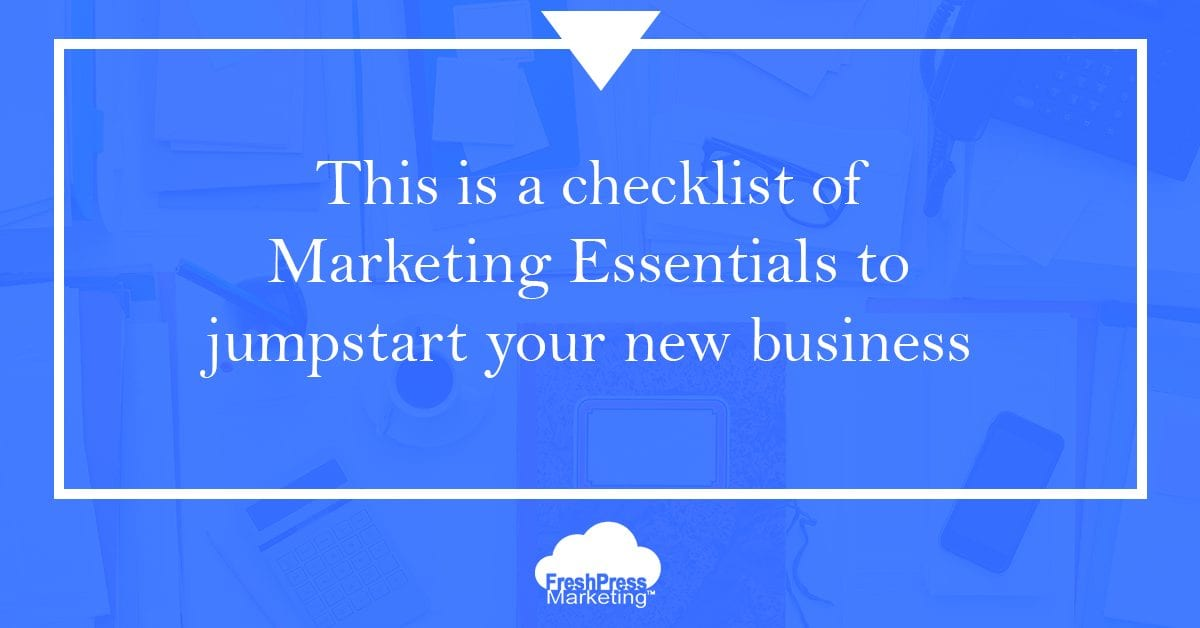 business marketing essentials